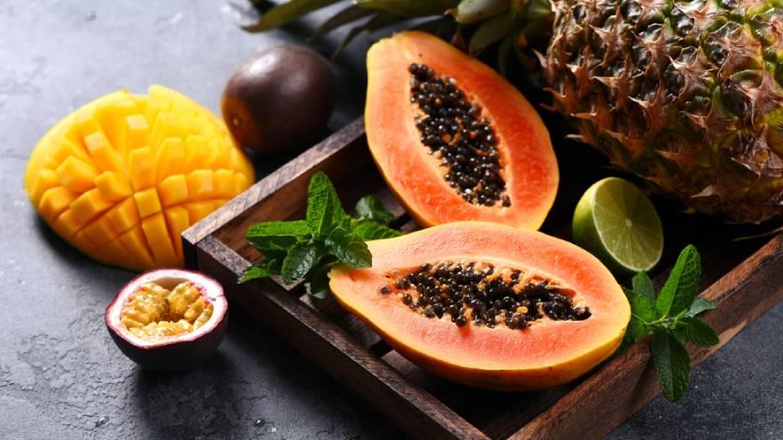 La papaya es una fruta muy nutritiva y rica en vitaminas