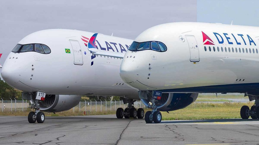 LATAM negoció el ingreso de Delta para afrontar sus crisis.