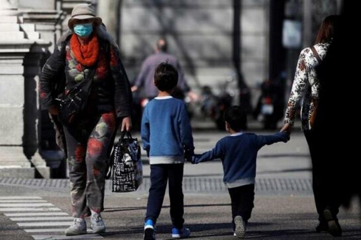El fin de semana pasado los niños porteños pudieron salir de sus casa.