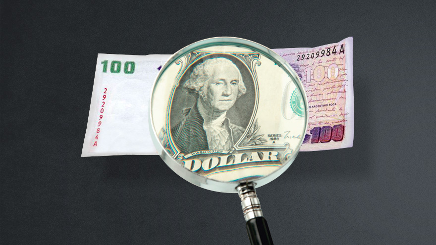 El bono dólar linked explicó el 50% de lo recaudado hoy