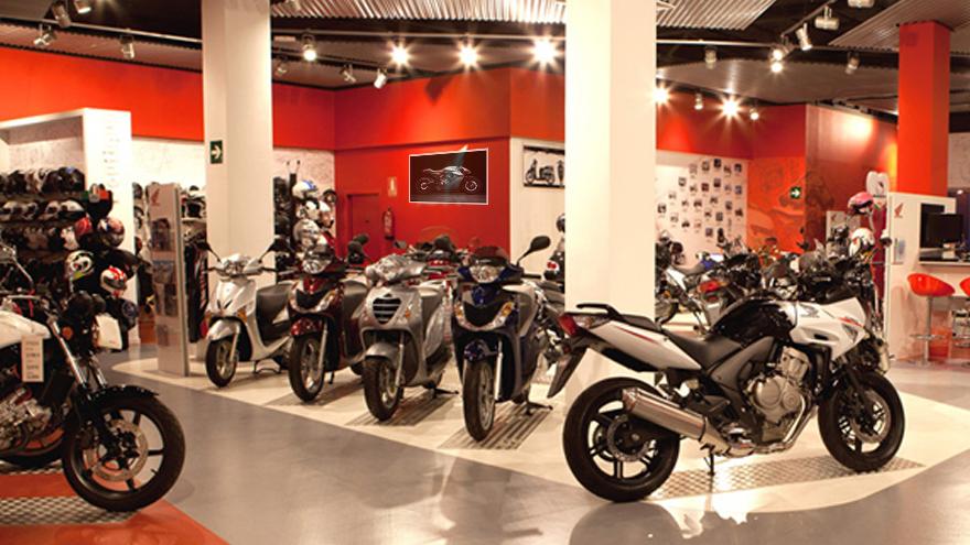 Las ventas de motos sufren debido a la pandemia.