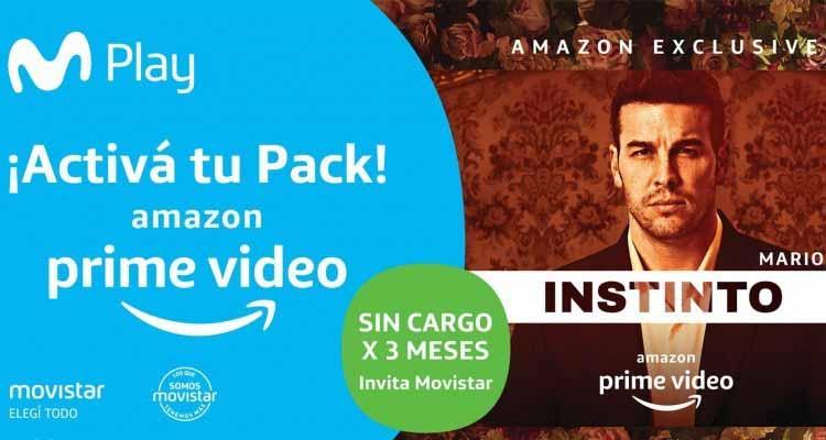 Amazon Prime Video se ve en la Argentina y en la región a través de Movistar