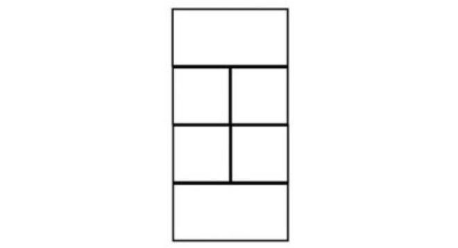 Este es el primer desafío: ¿cuántos cuadrados ves?