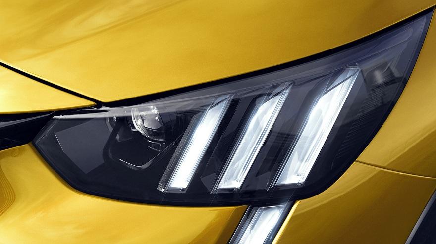 Peugeot 208, con la garras del león en cada detalle.
