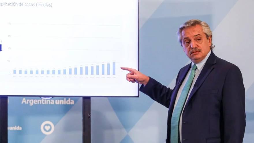 El presidente Alberto Fernández ha informado sobre los resultados de la cuarentena en el control del Covid-19