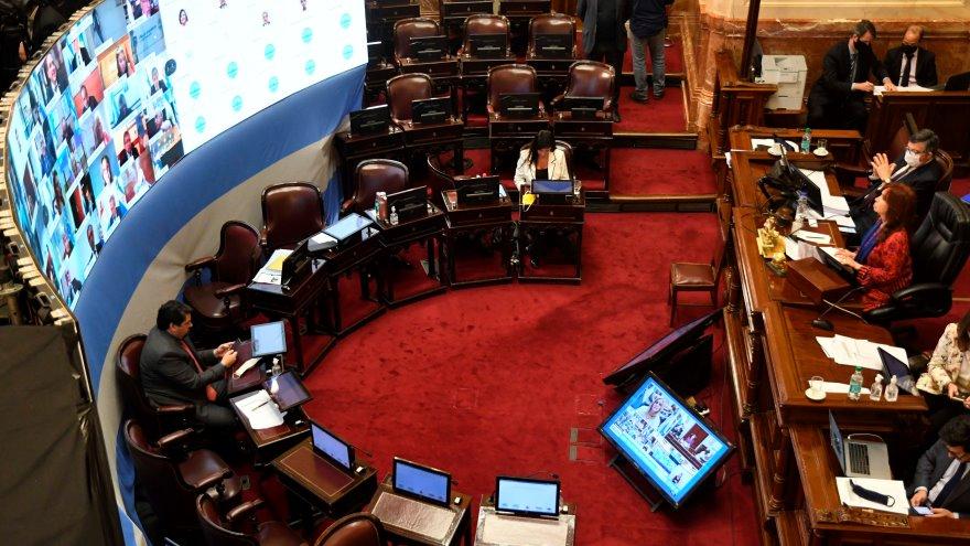 La sesión virtual del Senado evidenció el rol de internet como servicio crítico