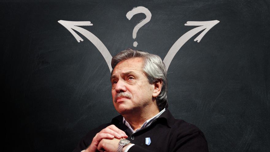 Alberto Fernández y un dudoso futuro sobre el pago de la deuda.