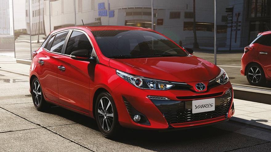 Toyota Yaris hatchback, a la venta en 5 versiones.