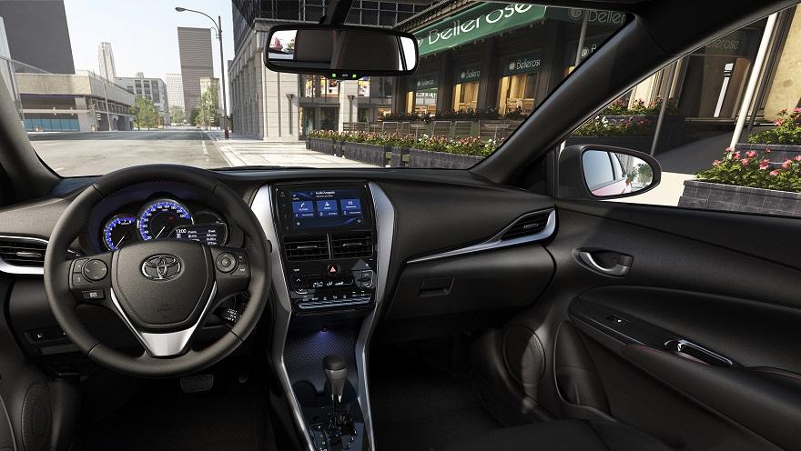 Así es el Toyota Yaris por dentro.