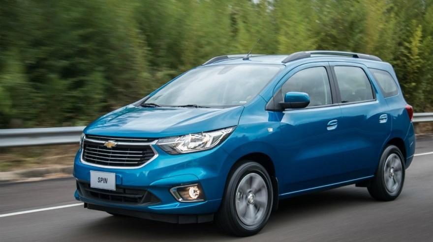 Spin, el Chevrolet para 7 personas más barato.