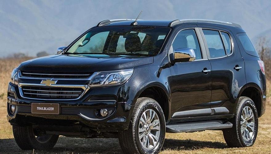Chevrolet Trailblazer, el SUV más grande, en la subasta del miércoles.