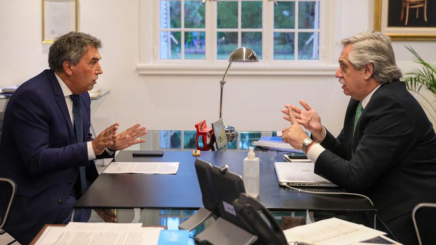 Congelamiento de tarifas: Claudio Ambrosini, titular del Enacom, reunido con Alberto Fernández.