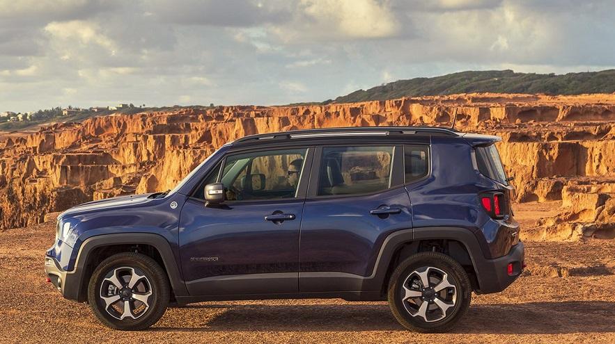 Jeep Renegade, en el top tres de los más vendidos en julio.