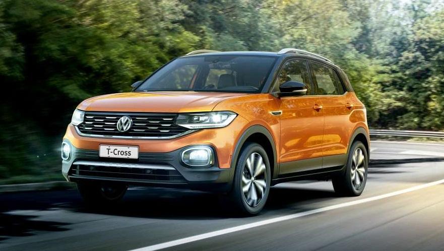 Volkswagen T-Cross, el SUV chico más vendido.