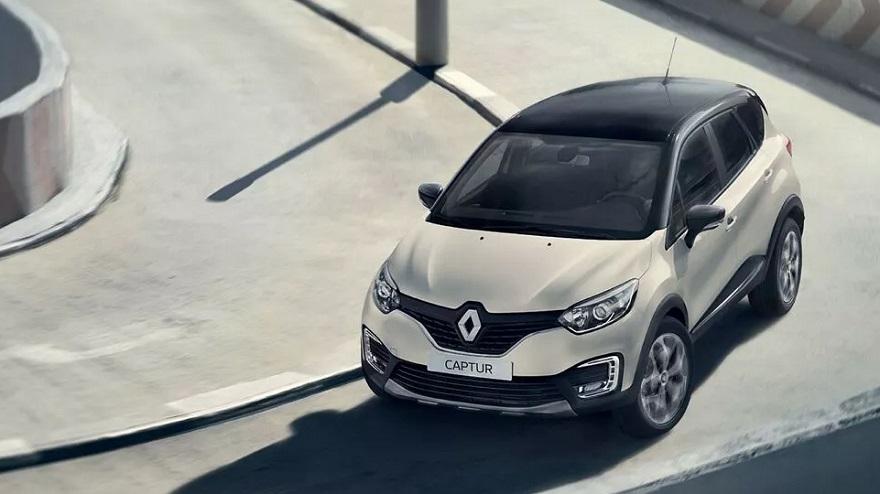 Renault Captur, otro de los SUV más vendidos.