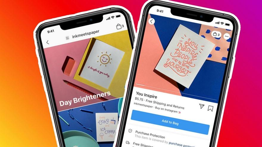 Fcebook lanzó Shops para facilitar el comercio electrónico en medio de la pandemia.