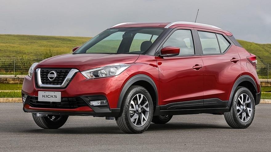 Nissan Kicks, otro de los SUV más vendidos.