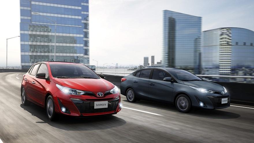 Toyota Yaris, en su versión hatch y sedán.