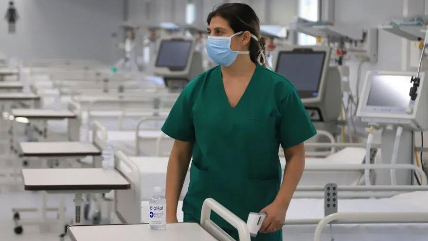 La ocupación de camas de terapia intensiva preocupa a las autoridades sanitarias.