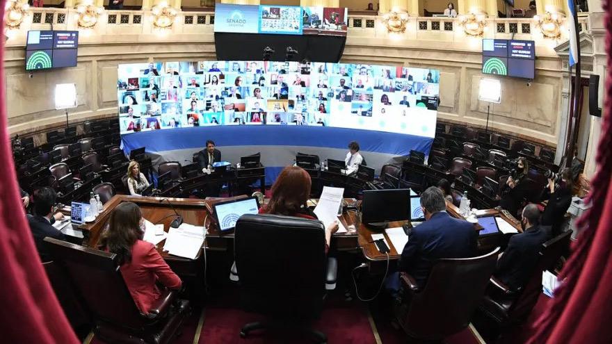 El Senado debatirá el proyecto a partir de las 14 en una sesión virtual