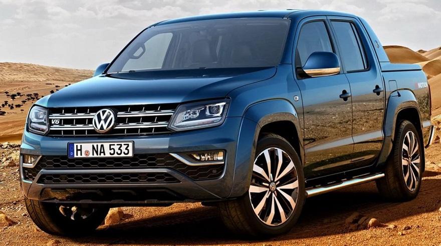 Volkswagen Amarok, la primera en debutar con motor V6 en el segmento mediano.