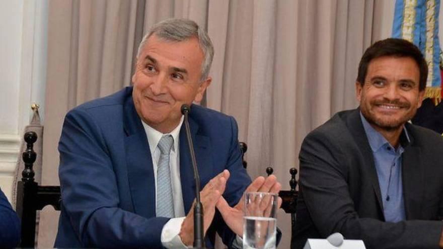 El Gobernador y el Ministro de Cultura y Turismo de Jujuy