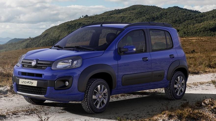 Fiat Uno, entre los más económicos, en su versión Way.