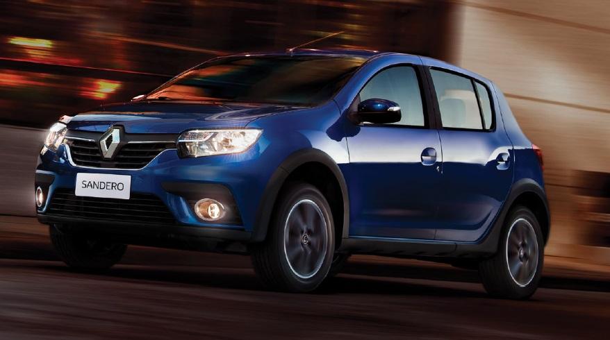 Renault Sandero, el segundo económico de la marca a dólar blue.