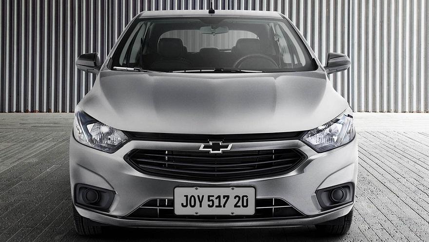 Chevrolet Onix Joy, el más económico de la gama.
