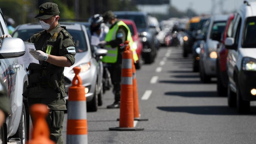 Las autoridades recordaron que está vigente la prohibición de circulación