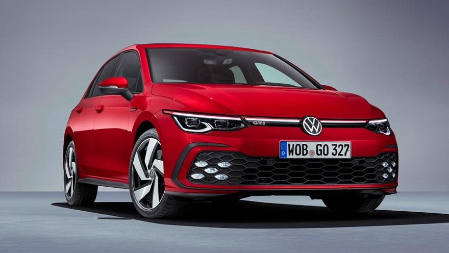 Volkswagen Golf GTi de octava generación, el más esperado.