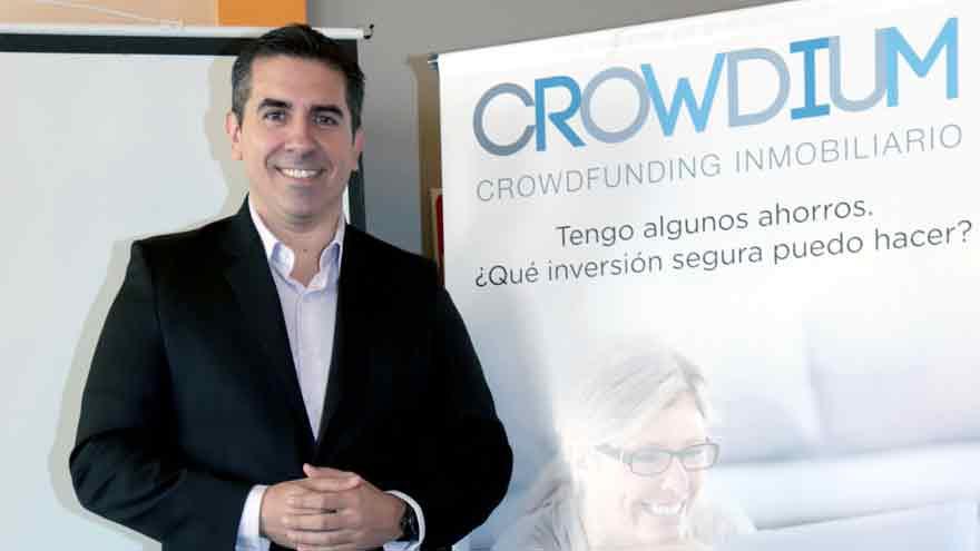 Damián Lopo, CEO de Crowdium.