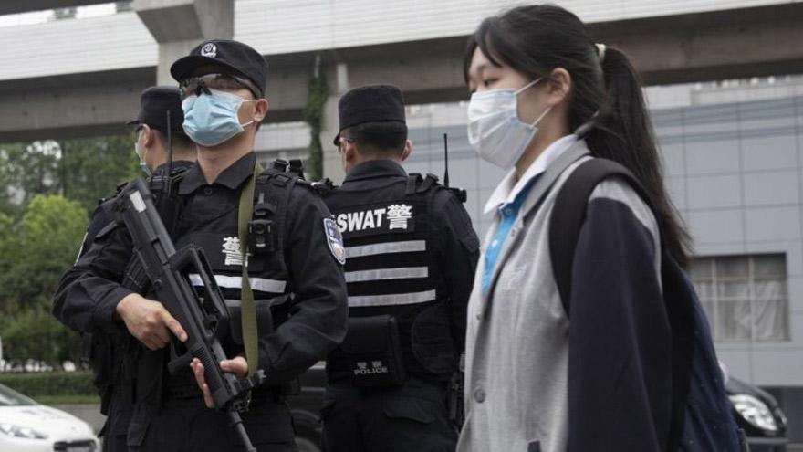 Por el contexto de pandemia, China restringió fuertemente la entrada y salida al país.