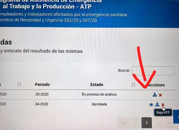 AFIP habilitó AFIP el botón para la devolución del ATP
