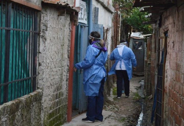 La situación en la Villa Azul, una de las preocupaciones del Gobierno bonaerense