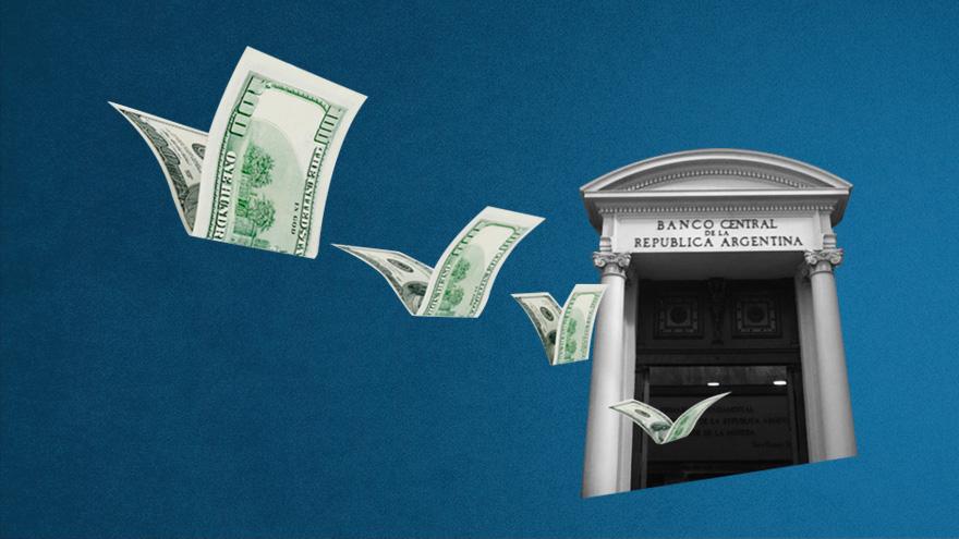 Las reservas netas son menores a los u$s10.000 millones