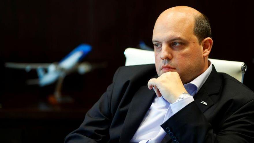 Pablo Ceriani, Presidente de la línea aérea de bandera