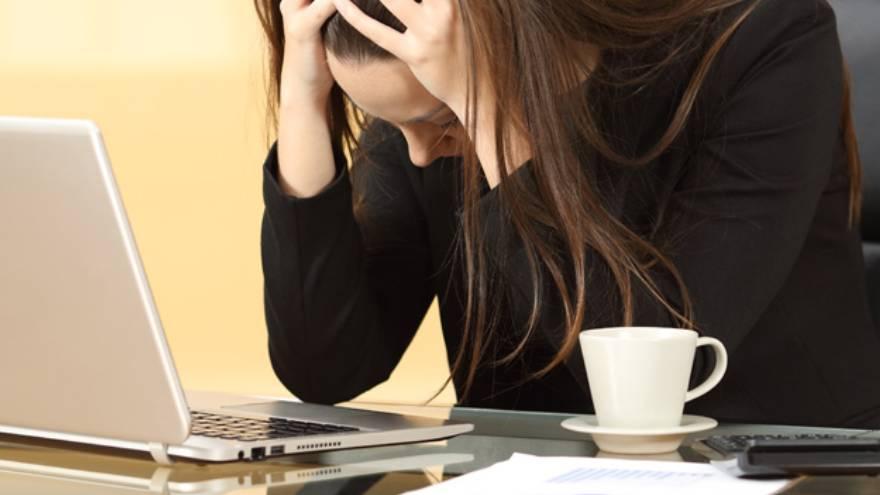 El síndrome de boreout se refiere a una fatiga intensa causada por la falta de trabajo