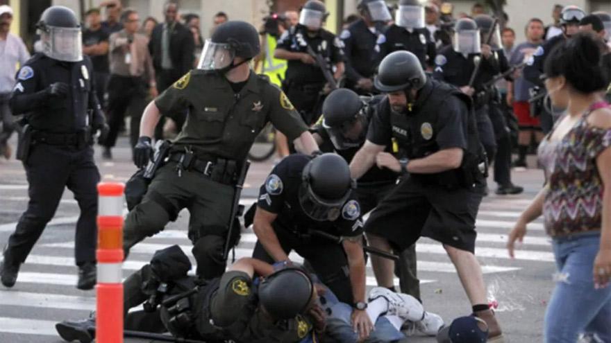 Se multiplican las detenciones en distintas ciudades de EE.UU.