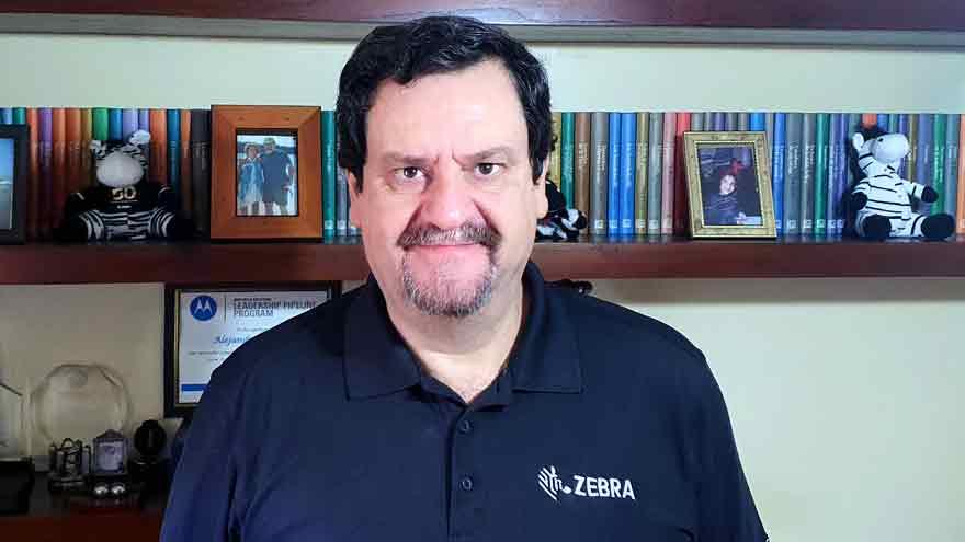 Alejandro Prosperi, director de Ventas de la región Sur de América Latina en Zebra Technologies.