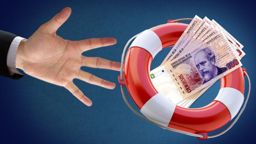 La ayuda estatal llegará a muchas empresas en forma de créditos a tasas subsidiadas.