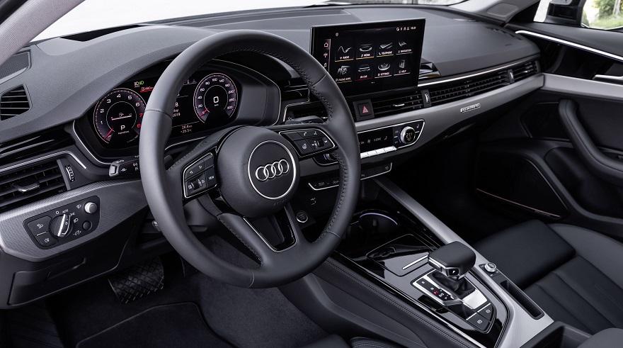 Así es el Audi A4 por dentro.