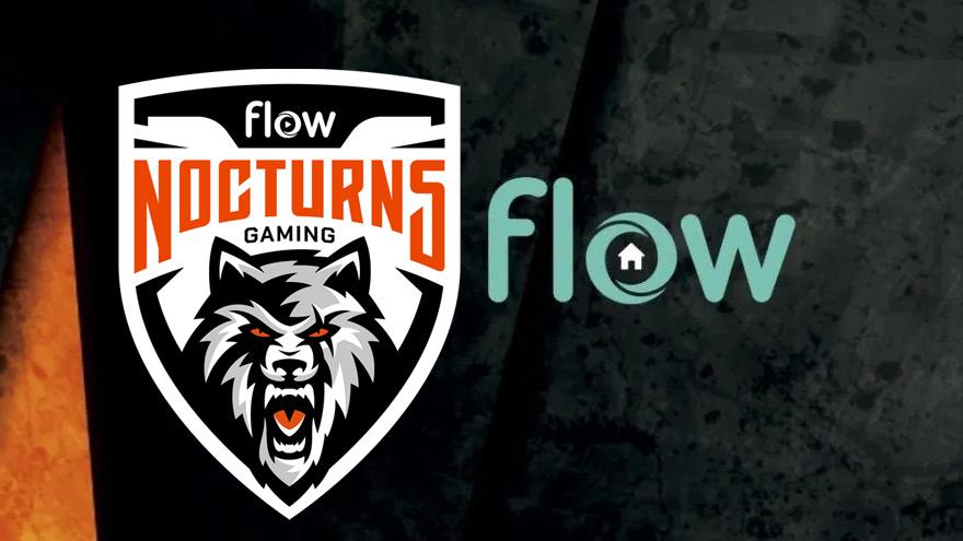 Desde hace más de un año Flow viene haciendo una apuesta fuerte a los e-sports, ahora patrocina a Nocturns Gaming