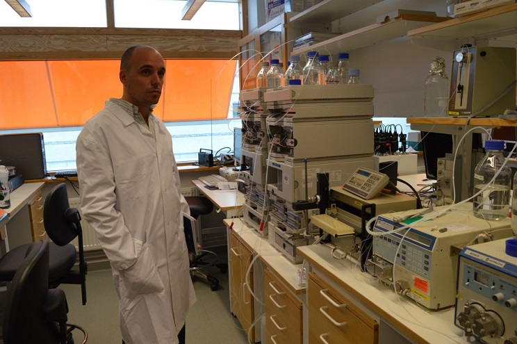 Rodrigo Pontiggia, doctor en Química Biológica y gerente de Desarrollo e Innovación de BRa