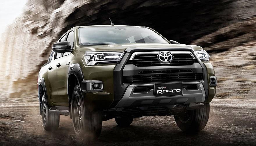 La nueva generación de la camioneta de Toyota.