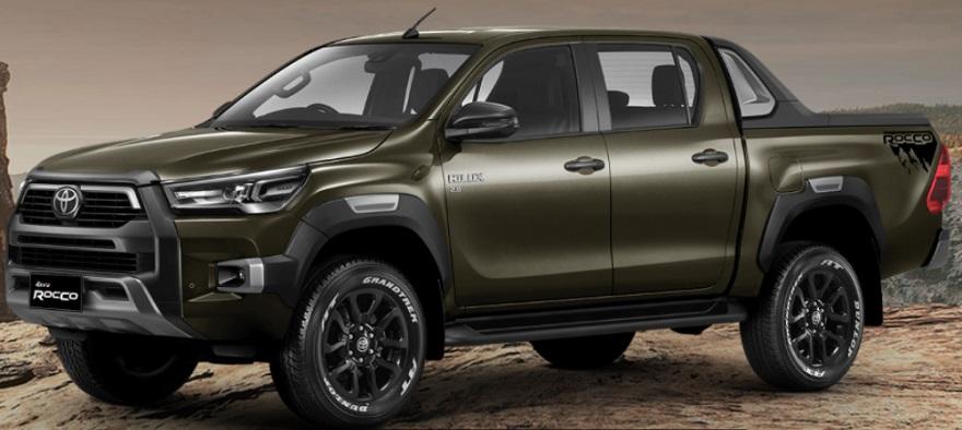 Toyota Hilux, con nuevo frontal.