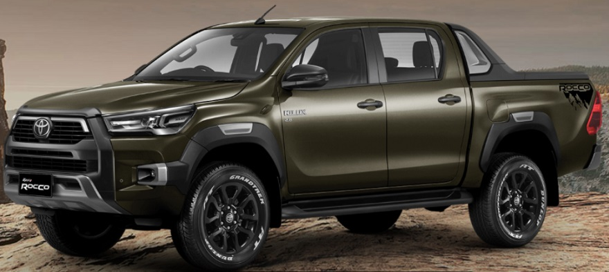 Toyota Hilux 2021, con más tecnología.