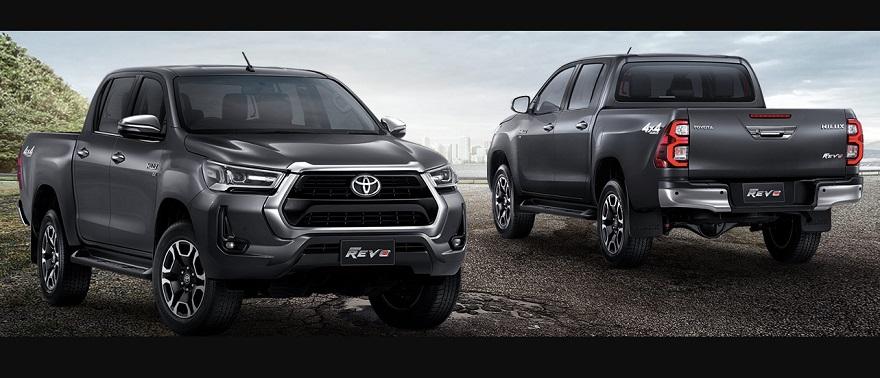Toyota Hilux 2021, renovada.