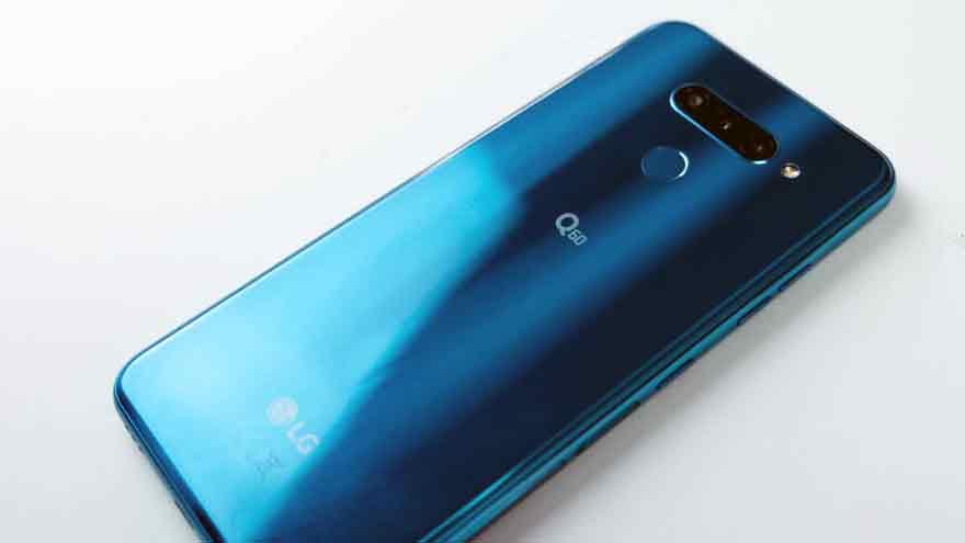 Este móvil de LG se destaca por su diseño elegante.