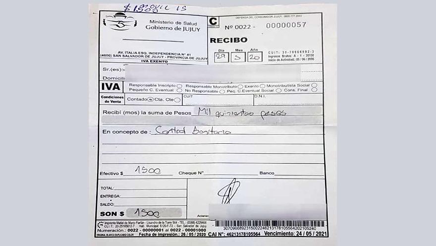En provincias como Jujuy la gobernación creó tasas e impuestos a partir de los nuevos controles sanitarios.
